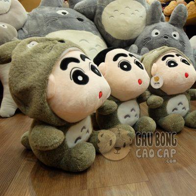 Shin đội lốt Totoro lông tơ