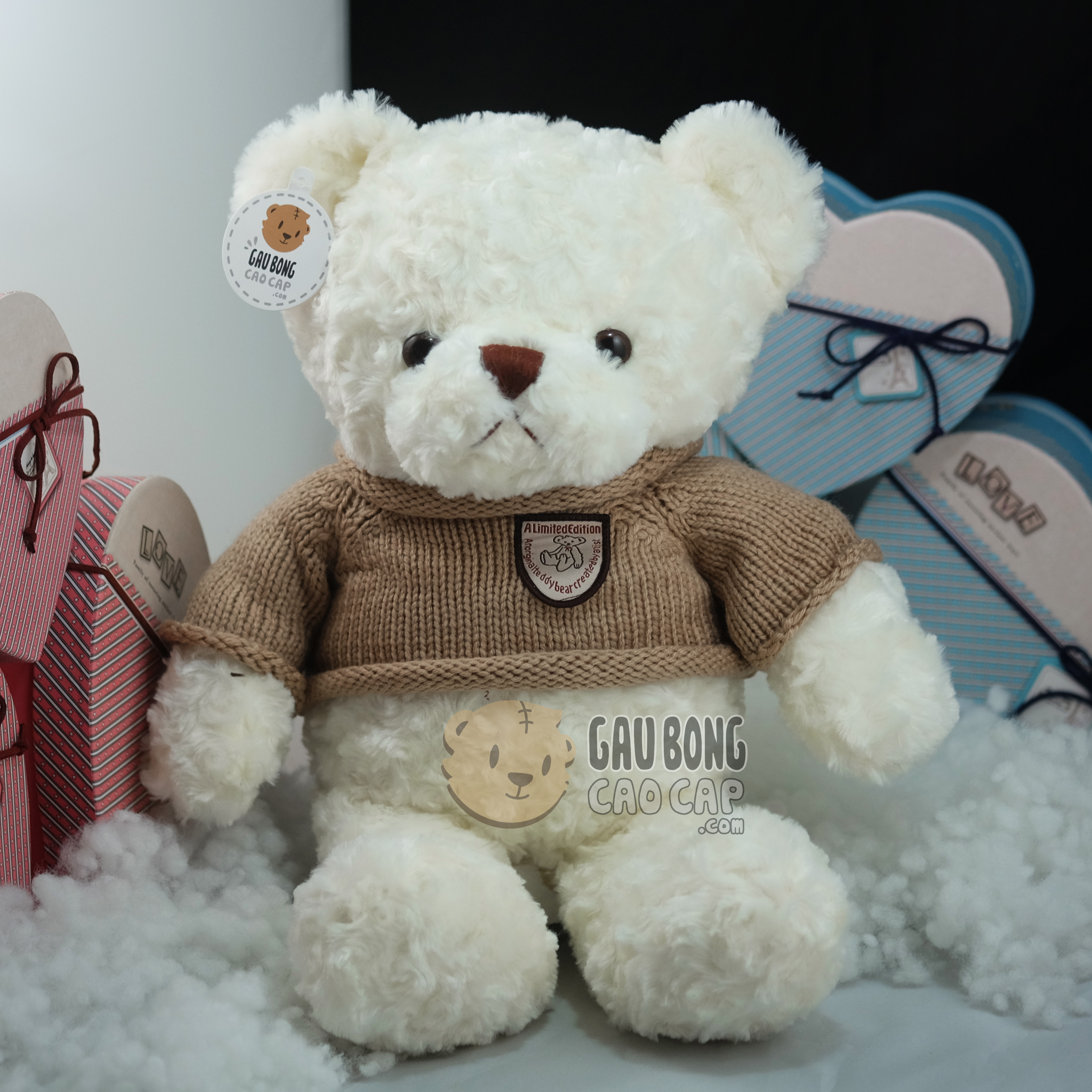 Gấu Teddy Head and Tales lông xoắn