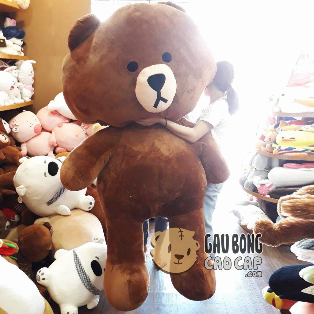 Gấu Brown khổng lồ 1m8