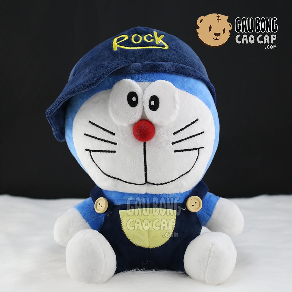 Doremon mặc yếm đội nón Rock
