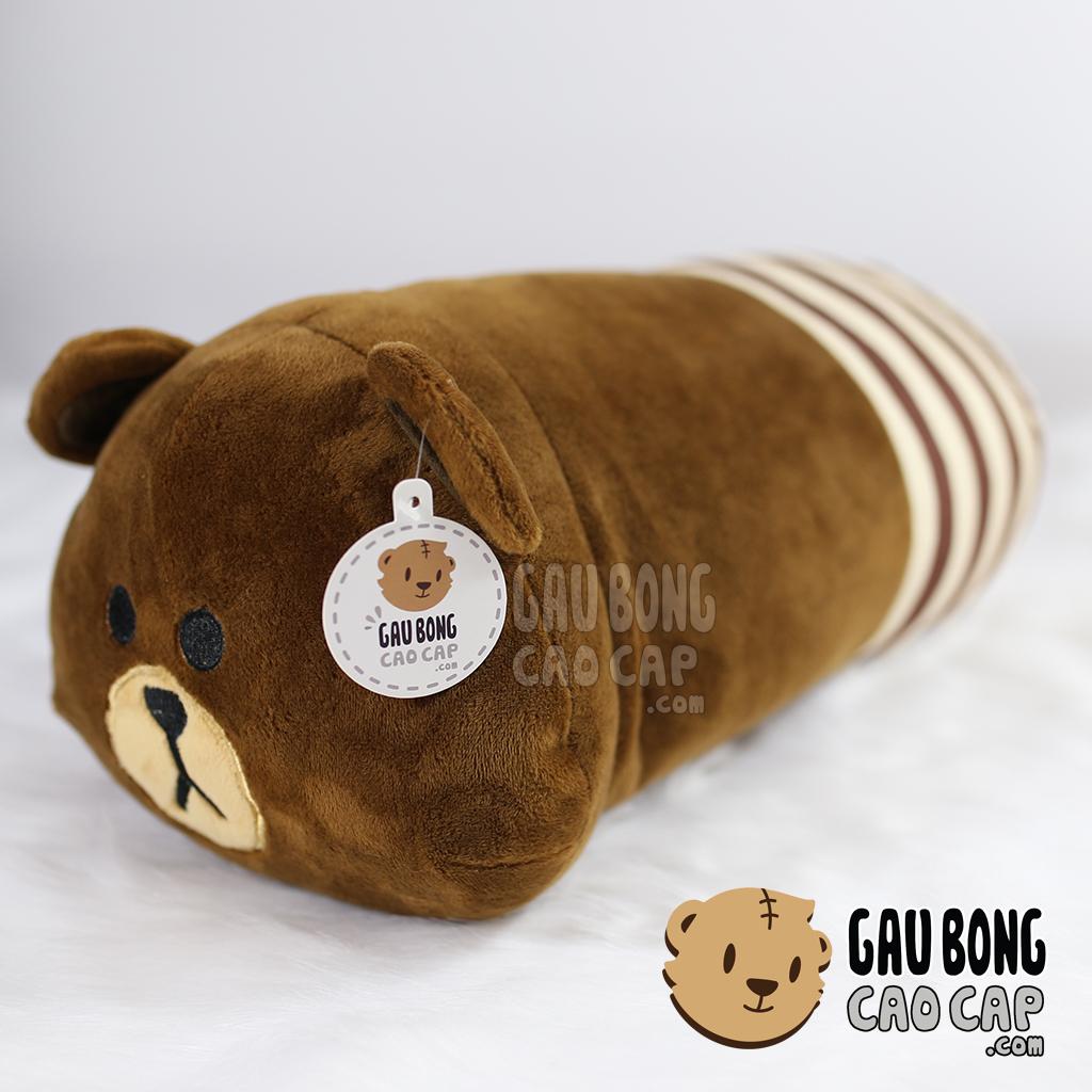 Gối mền Brown - Dạng dài ôm ngủ