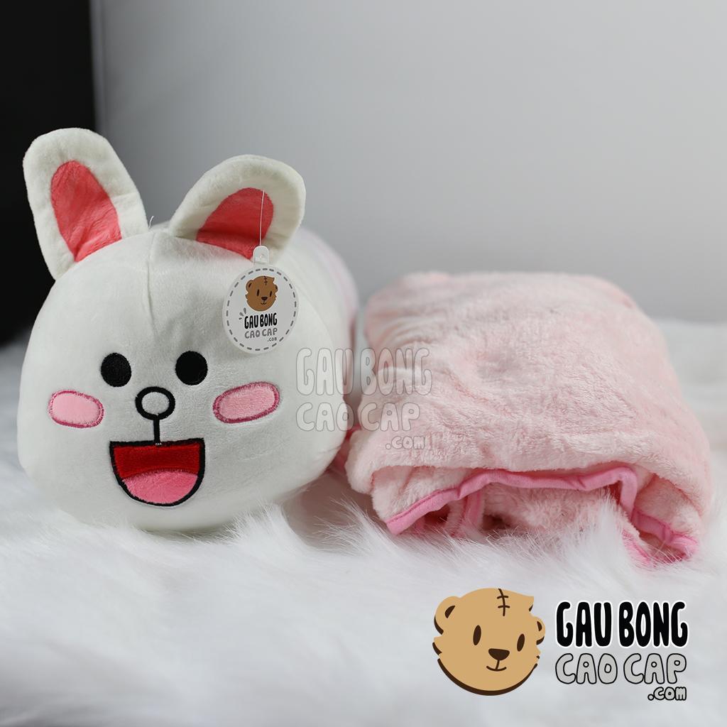 Gối mền Thỏ Cony - Dạng dài ôm ngủ