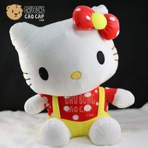 Gấu Bông Kitty mặc yếm