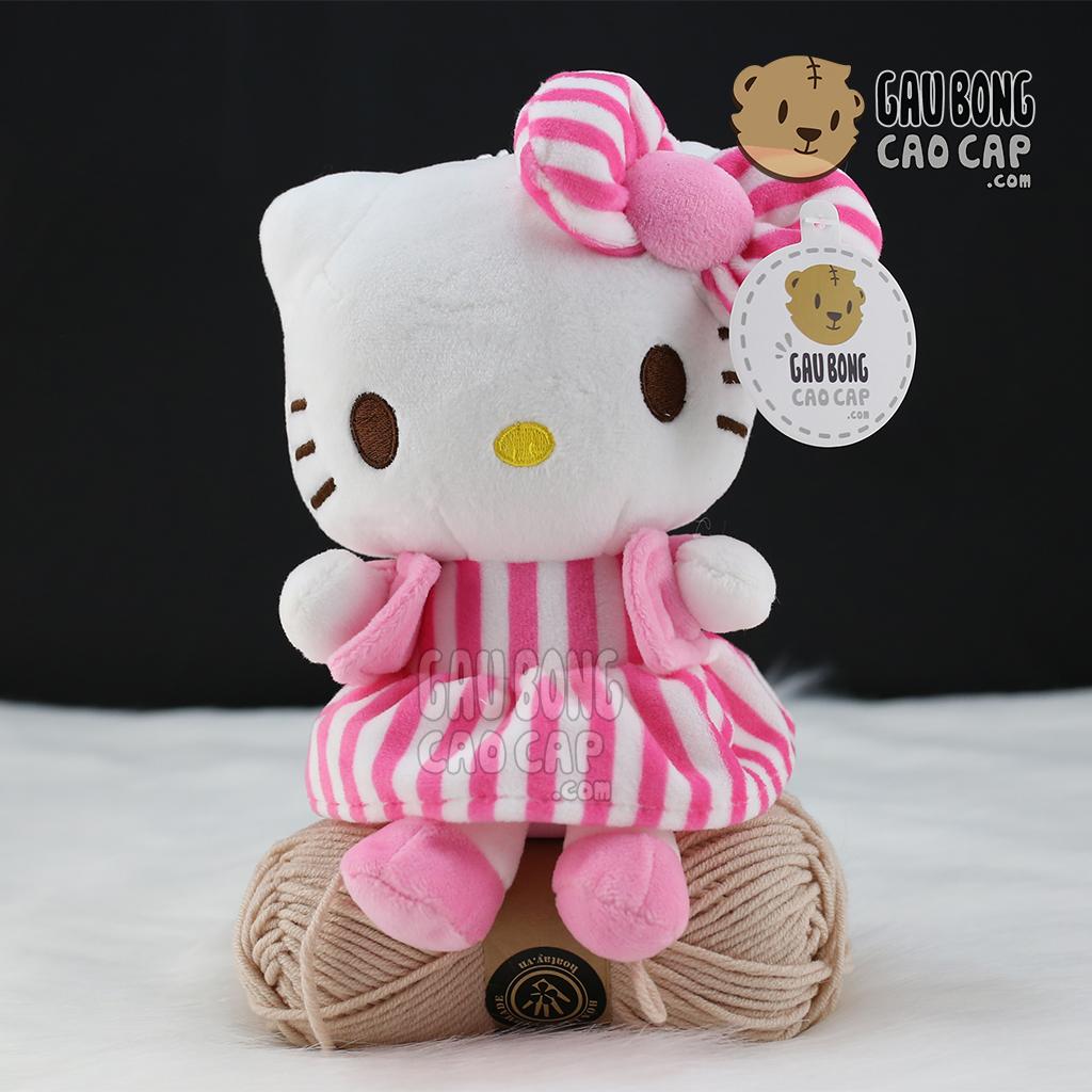 Gấu Bông Kitty nhí mặc đầm