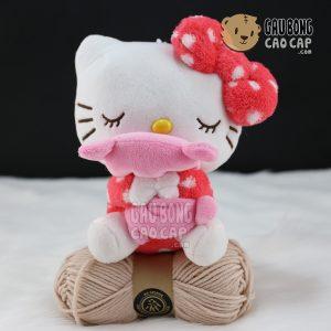 Gấu Bông Kitty ôm gối ôm