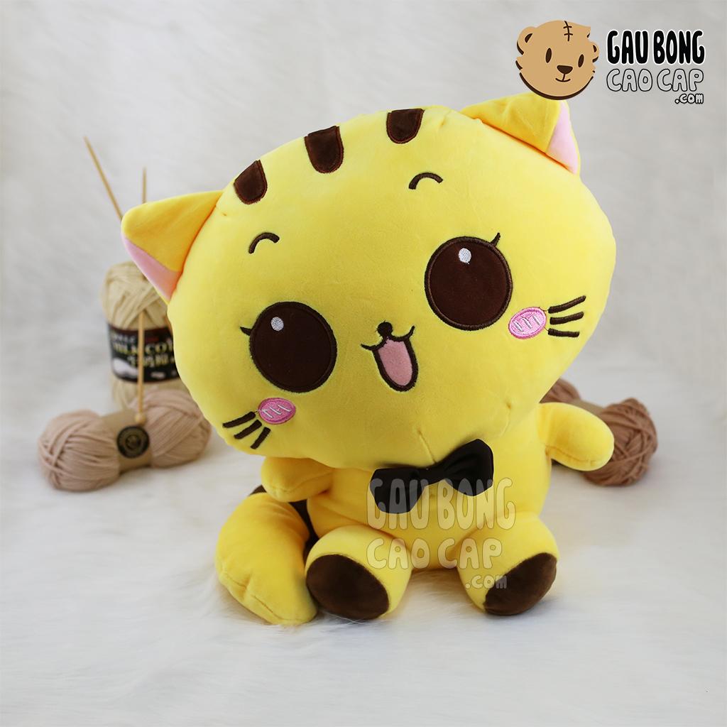Mèo Bông Mặt Bự - Lông Nhung Mịn
