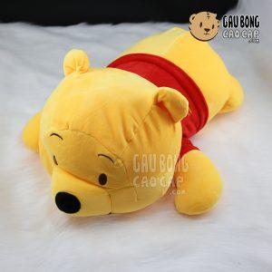 Gấu Pooh nằm - Lông nhung siêu mịn