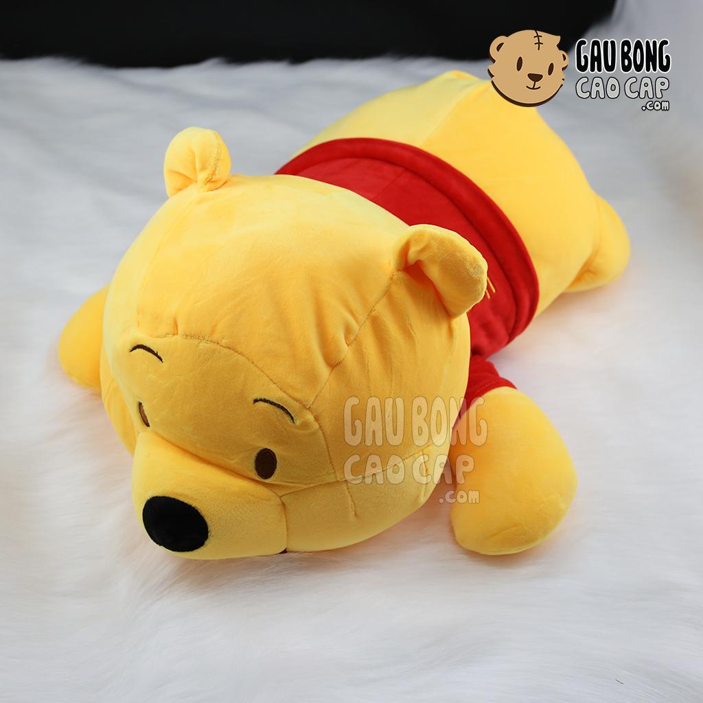 Gấu Pooh nằm - Lông nhung