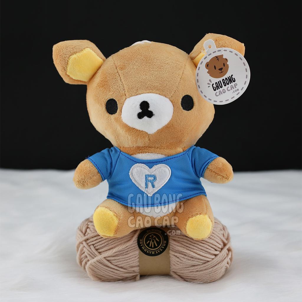 Gấu Bông Rilakkuma nhí mặc áo thun