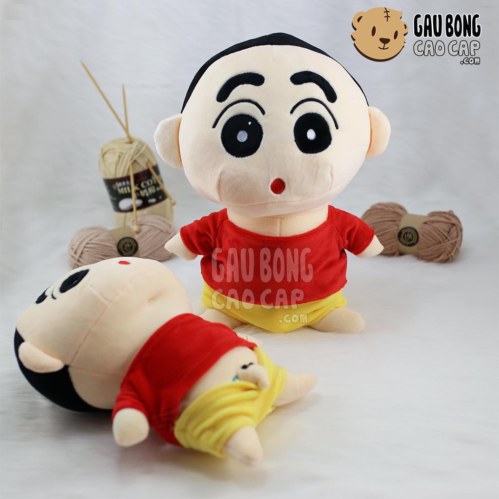 Gấu Bông Shin quần vàng áo đỏ