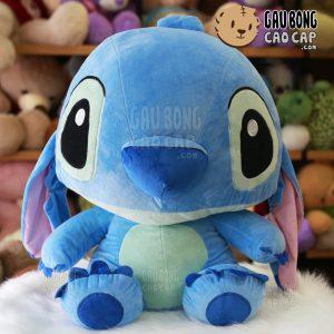 Gấu Bông Stitch xanh nhạt - Lông nhung