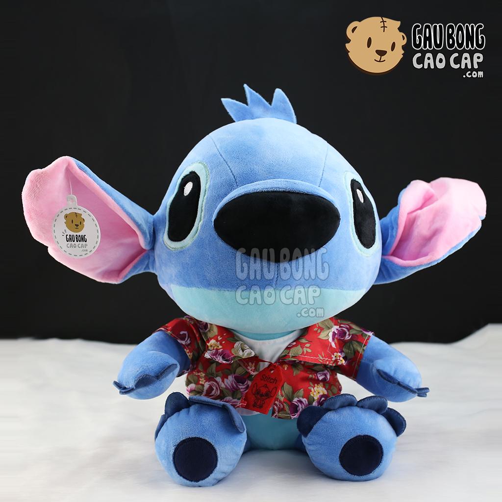 Gấu bông Stitch mặc áo hoa