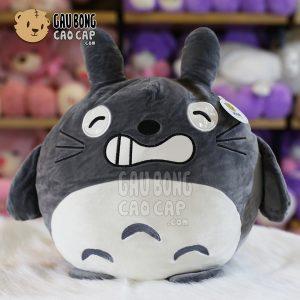 Gối ôm tròn Totoro lông nhung