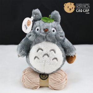 Totoro lông cừu nhí - Che lá