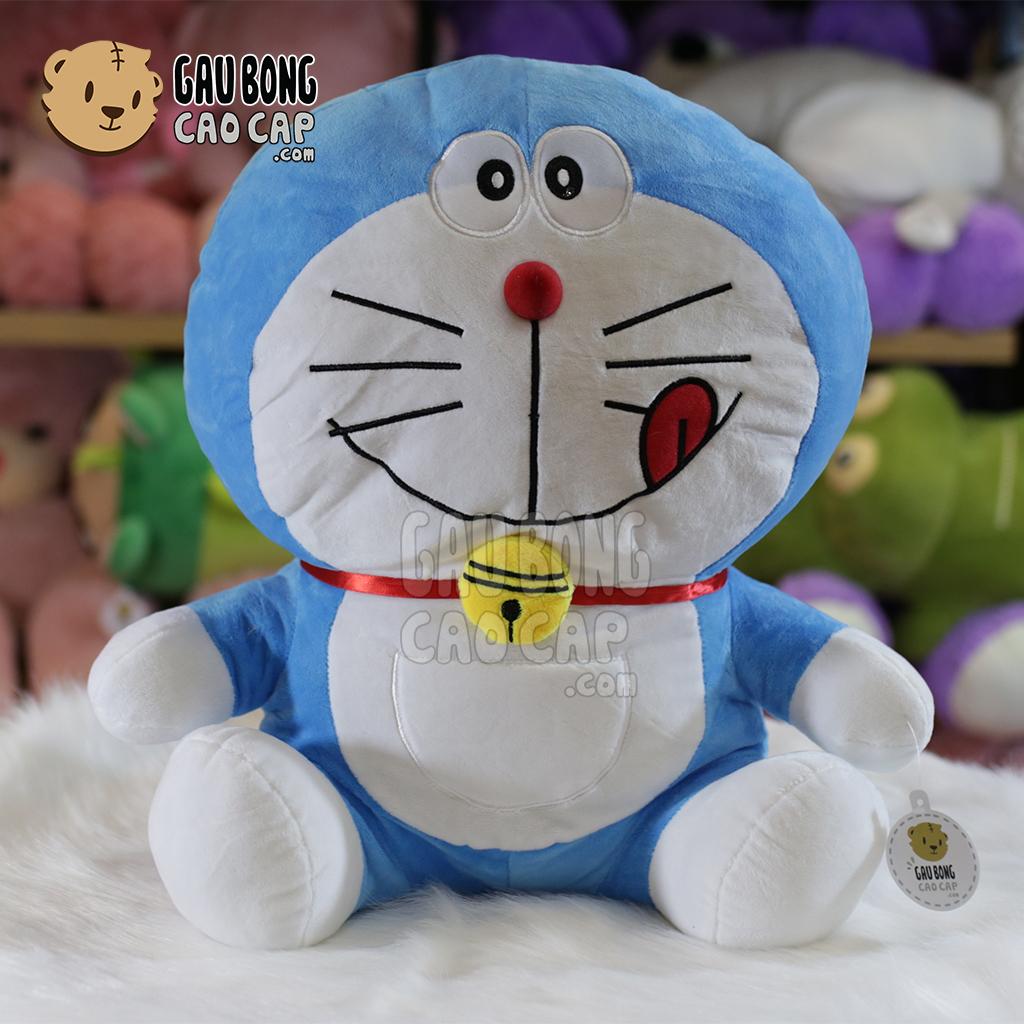 Gấu Bông Doremon ngồi - Chuông vải