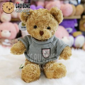 Gấu Teddy áo len lông xoắn Classic
