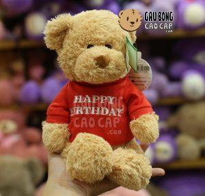 Gấu Teddy Happy Birthday