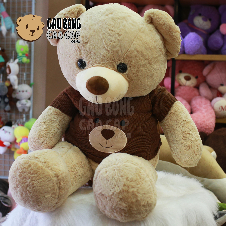 Gấu Teddy Smooth áo len mặc Gấu