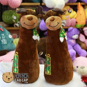 Gấu Bông Tuần Lộc Gối ôm dài