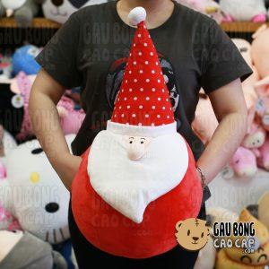 Gấu Bông Ông già Noel tròn đút tay