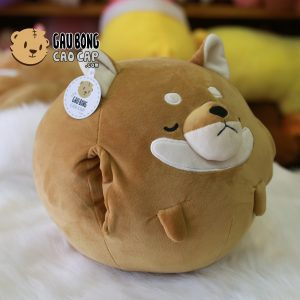 Gối mền Chó Shiba Tròn đút tay