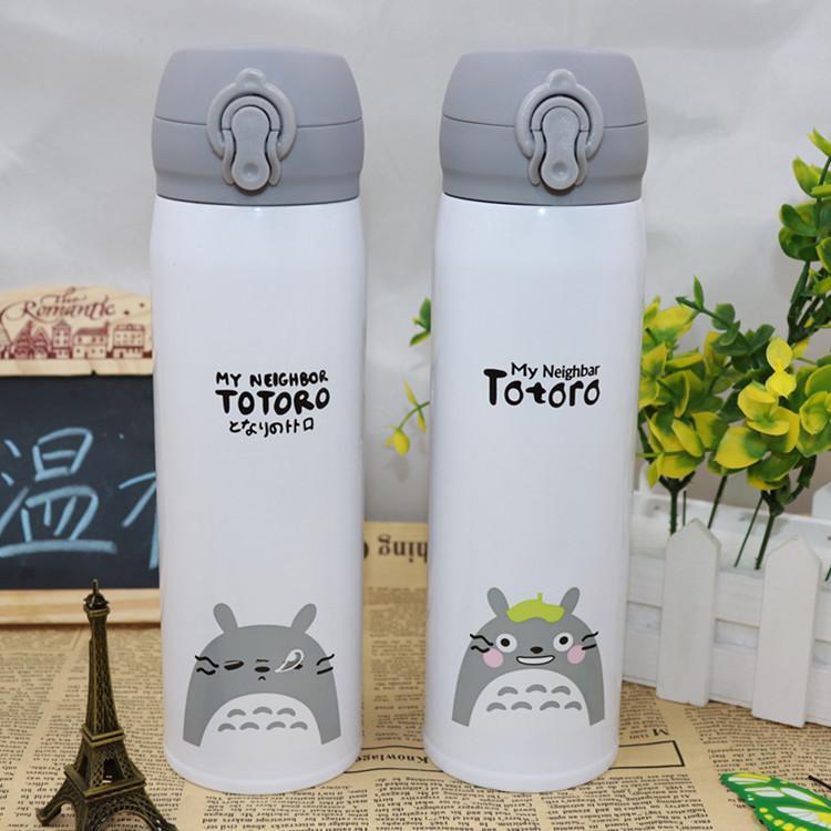Bình giữ nhiệt Totoro Nắp Nhựa 500ml