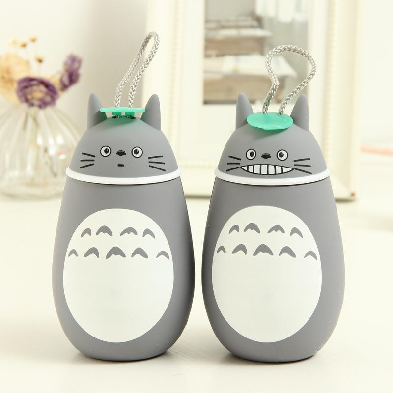 Bình nước Totoro bọc cao su