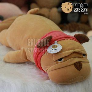 Chó bông mặt Xệ choàng khăn