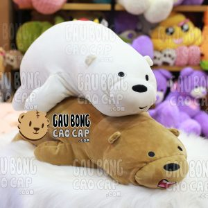 Gấu nâu Grizzly nằm - We Bare Bear