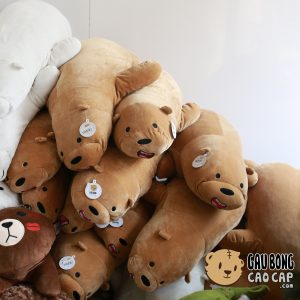Gấu nâu Grizzly nằm – We Bare Bear