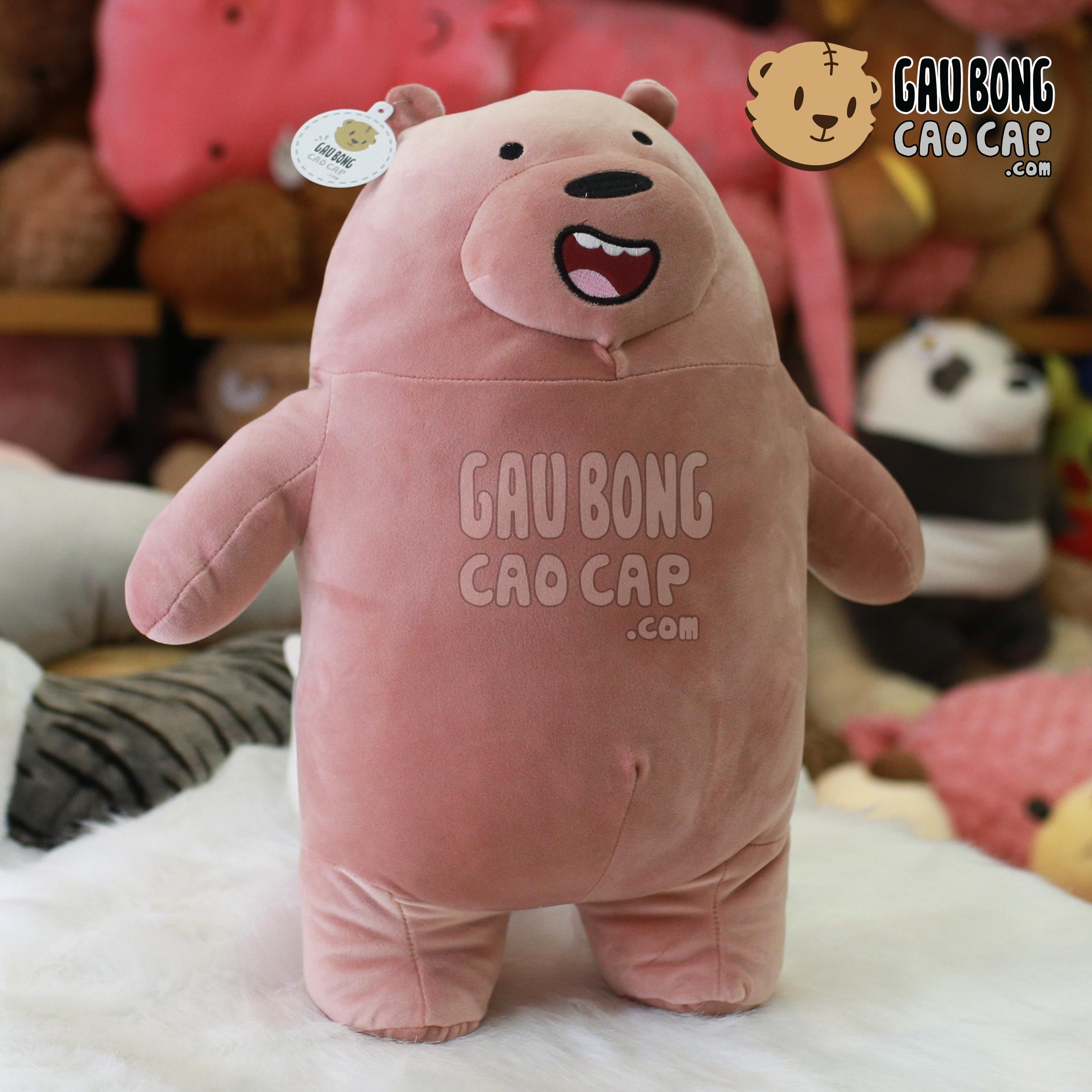 Gấu nâu Grizzly - We Bare Bear (Đứng 2 chân)
