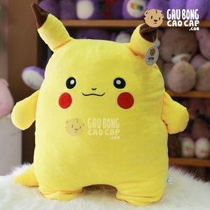 Gấu Bông Pikachu tựa lưng