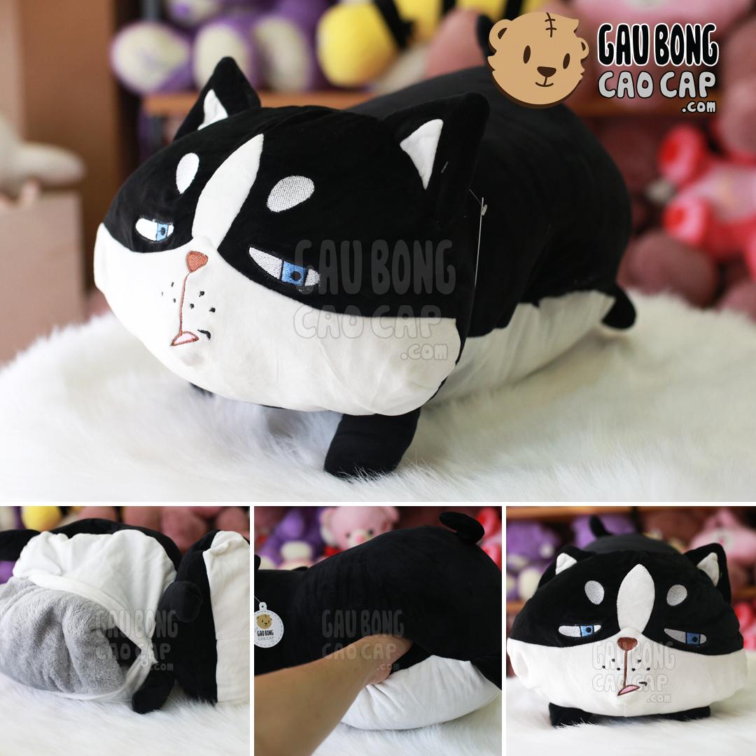 Gối mền 3in1 Mèo Bông