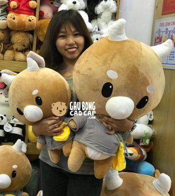 Bò Chăm Chỉ Size 50cm, 80cm - Phim Thư Ký Kim