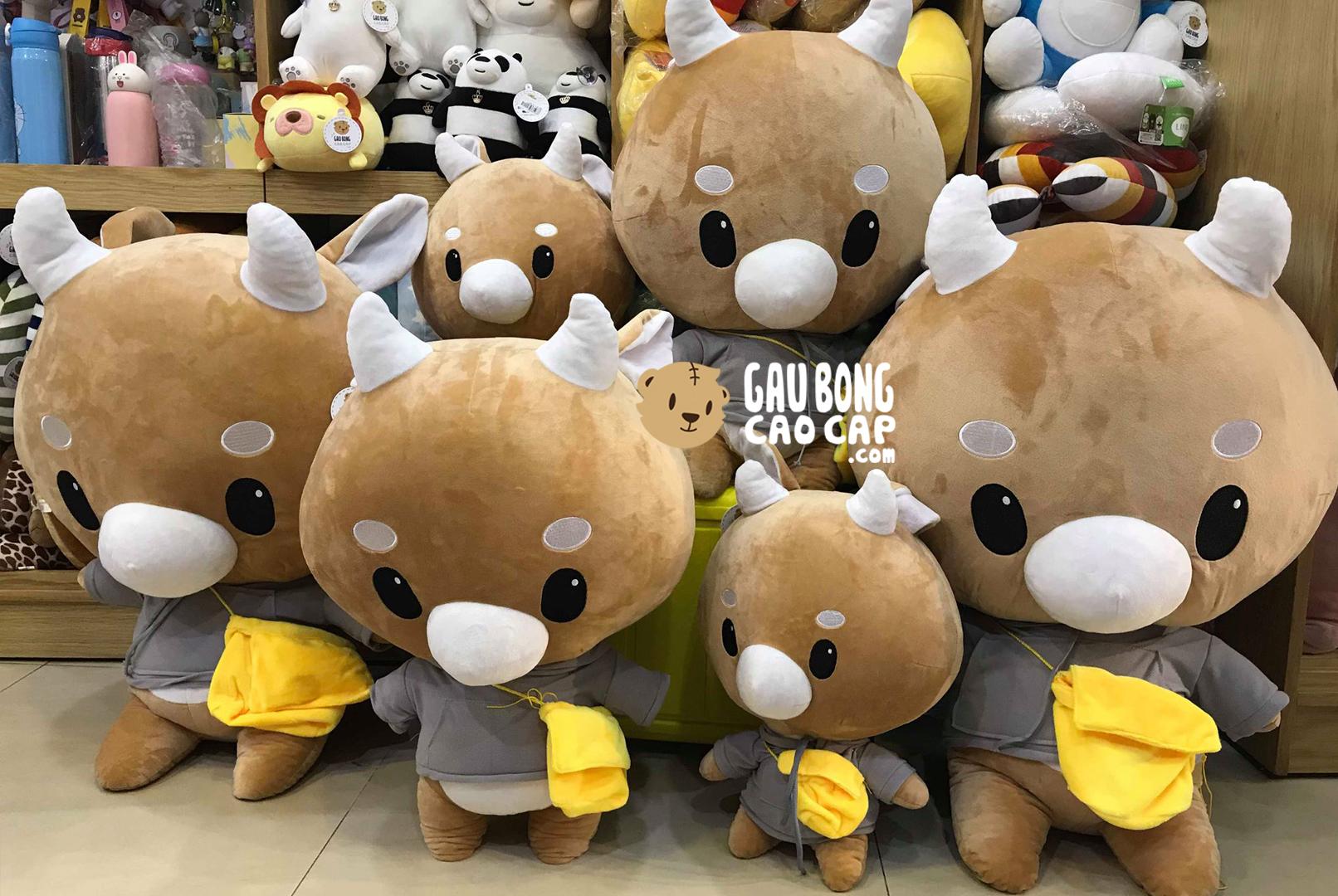Bò Chăm Chỉ Size 50cm, 80cm, 1m - Phim Thư Ký Kim