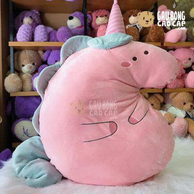 Gấu Bông Unicorn dẹp gối ôm