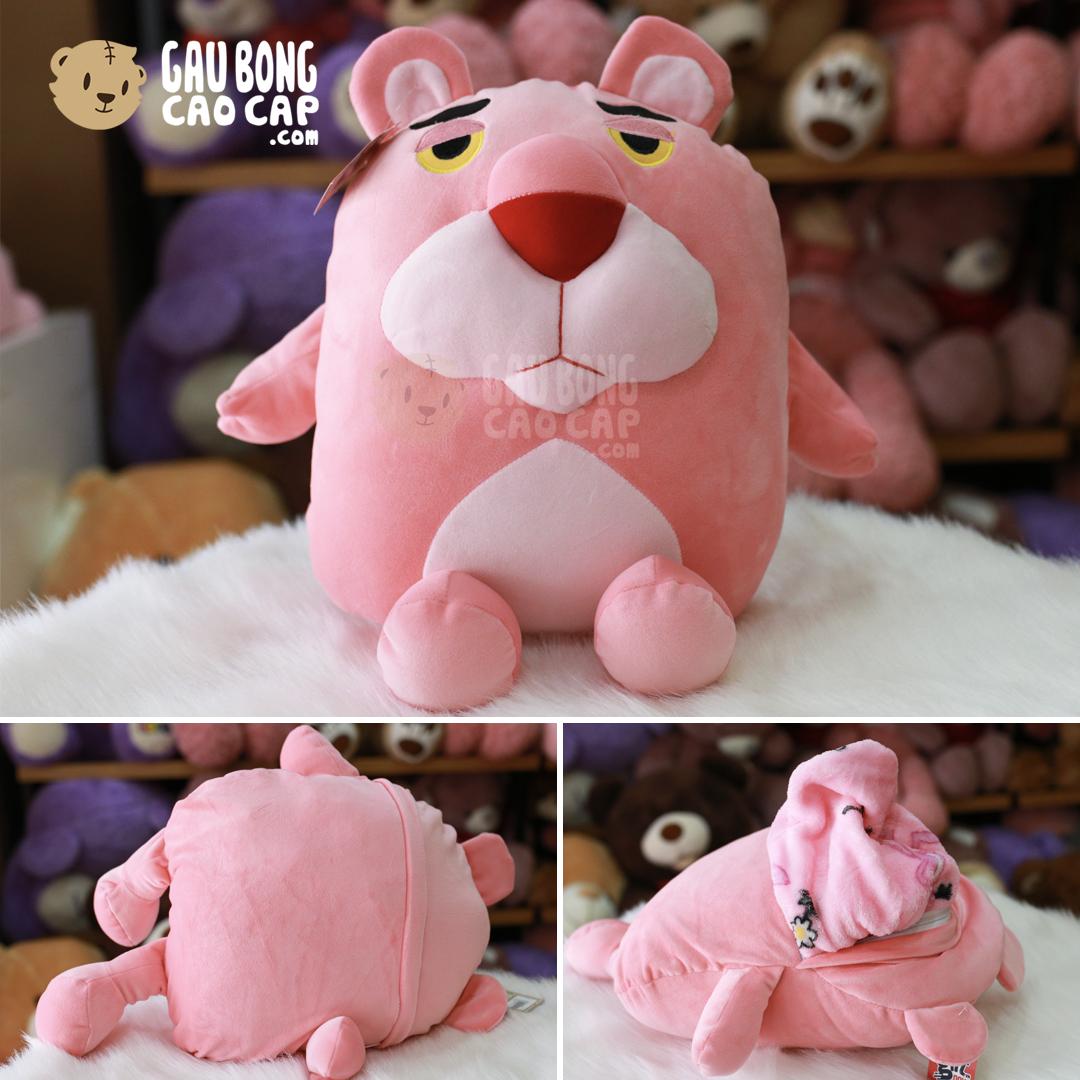 Gối Mền Báo Hồng - Pink Panther