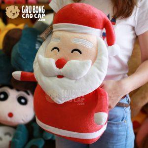 Gối ôm đút tay Ông Già Noel