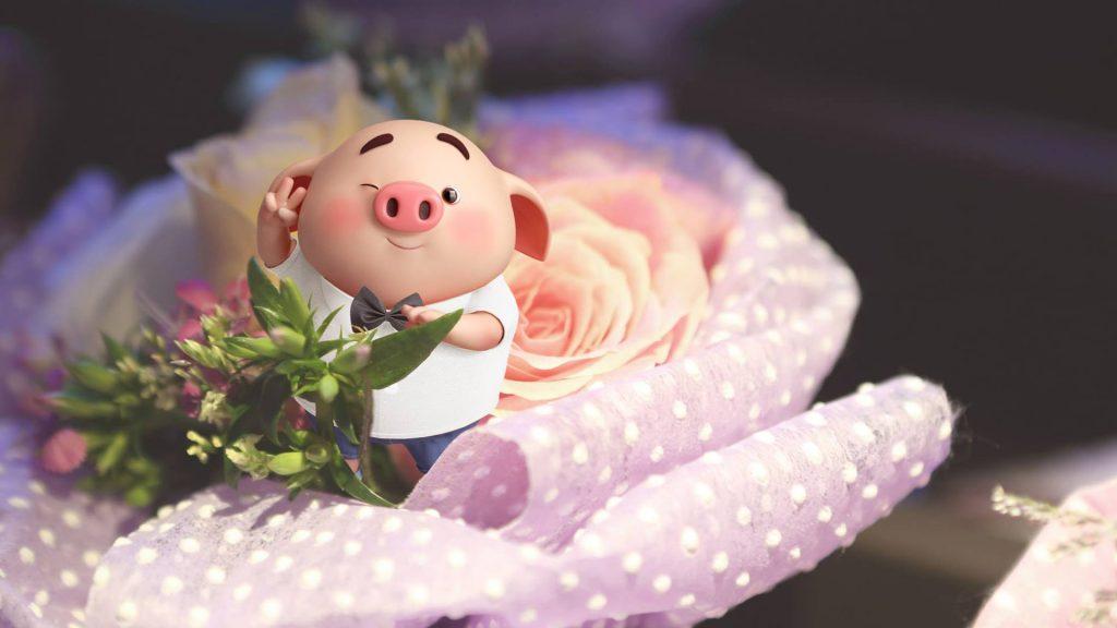 Hình Heo Cute dễ thương