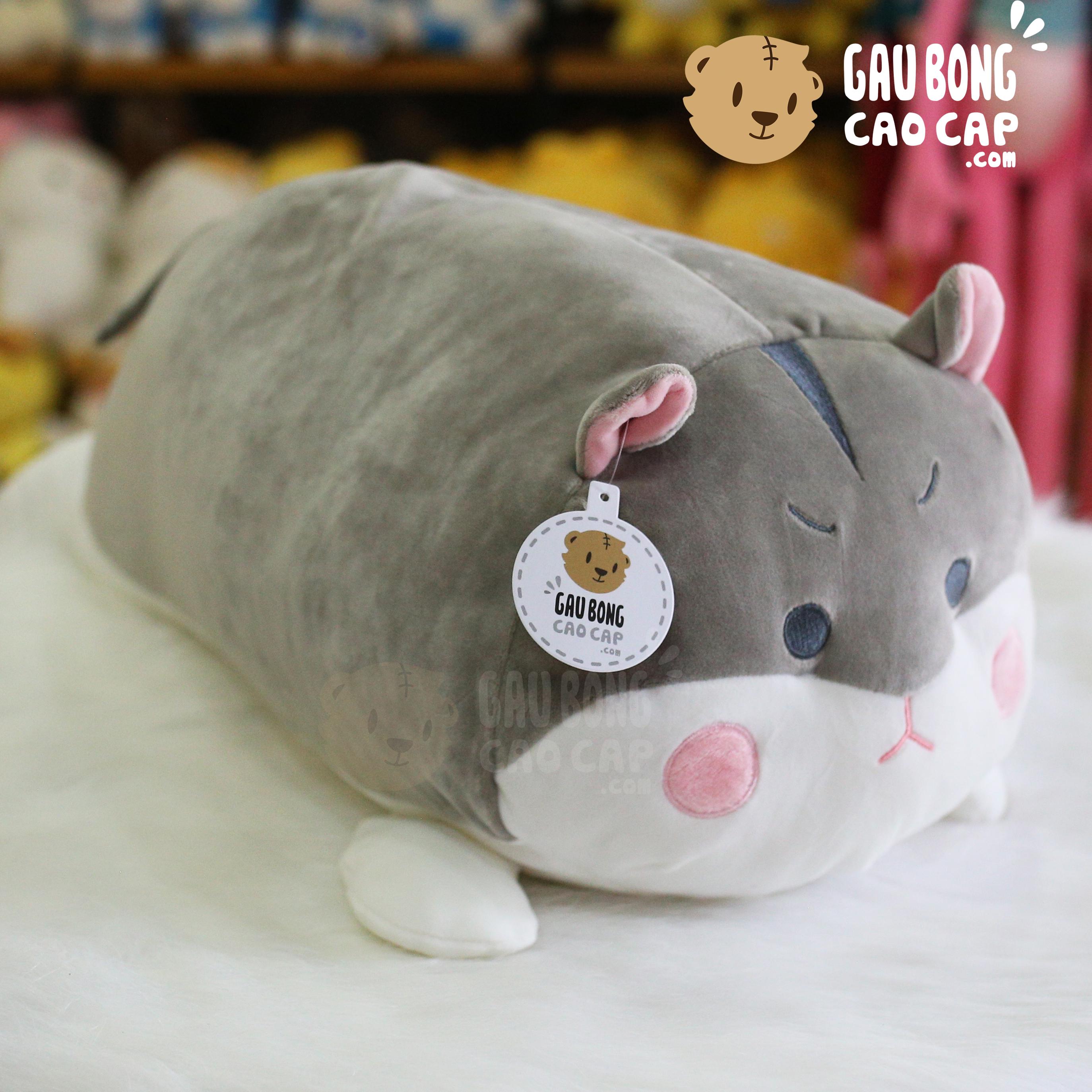 Chuột Bông Xám Mặt Cáu Kỉnh