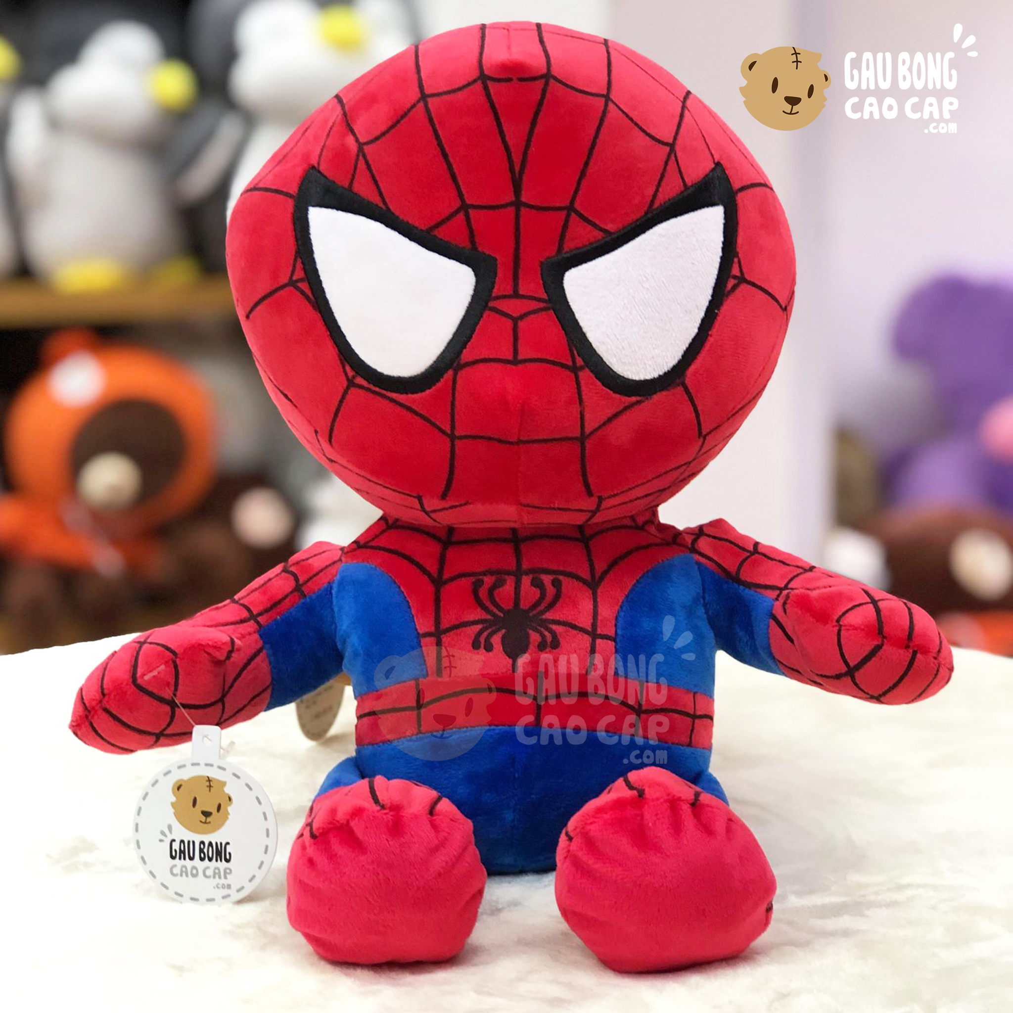Gấu Bông Spiderman đầu To