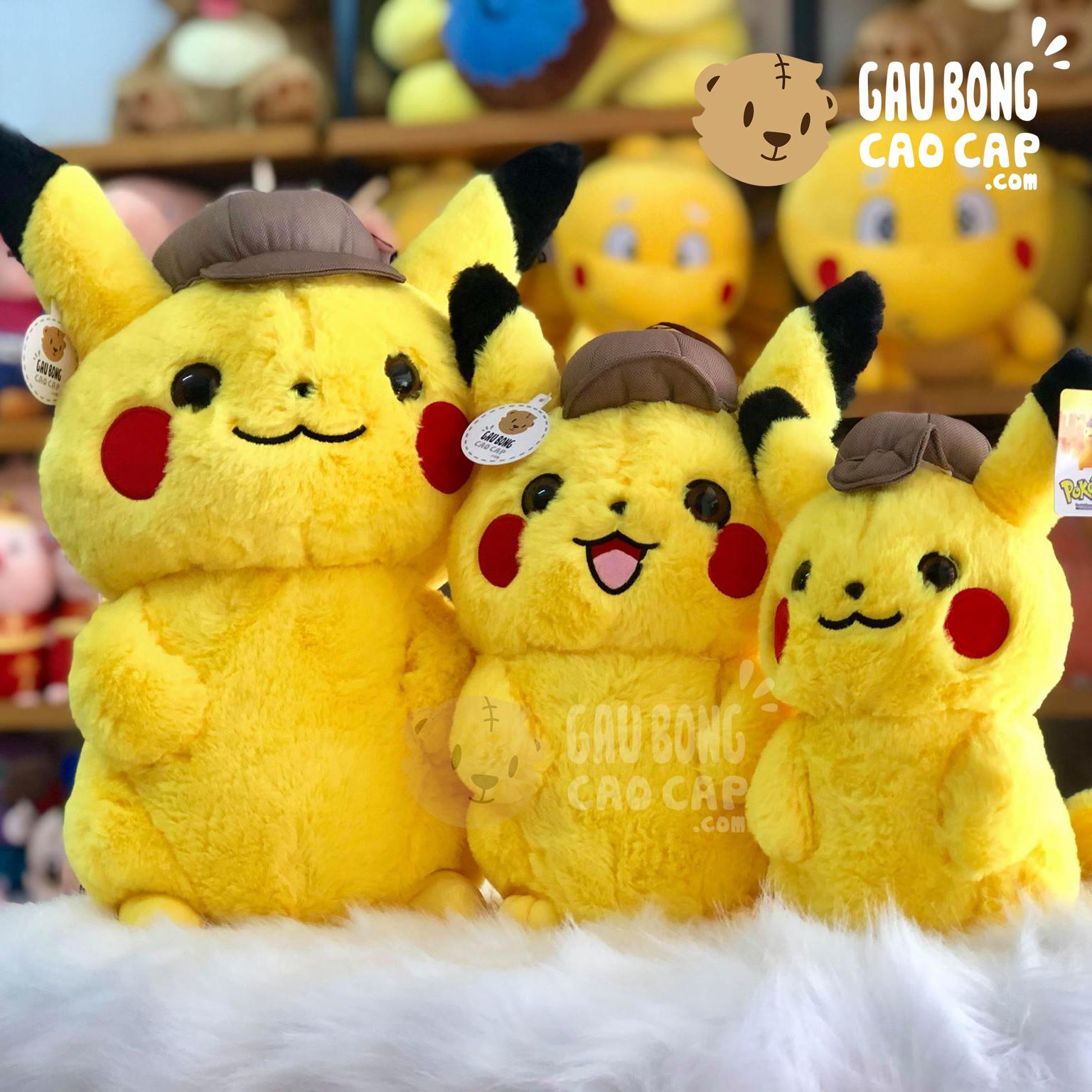 Gấu Bông Pikachu Thám Tử