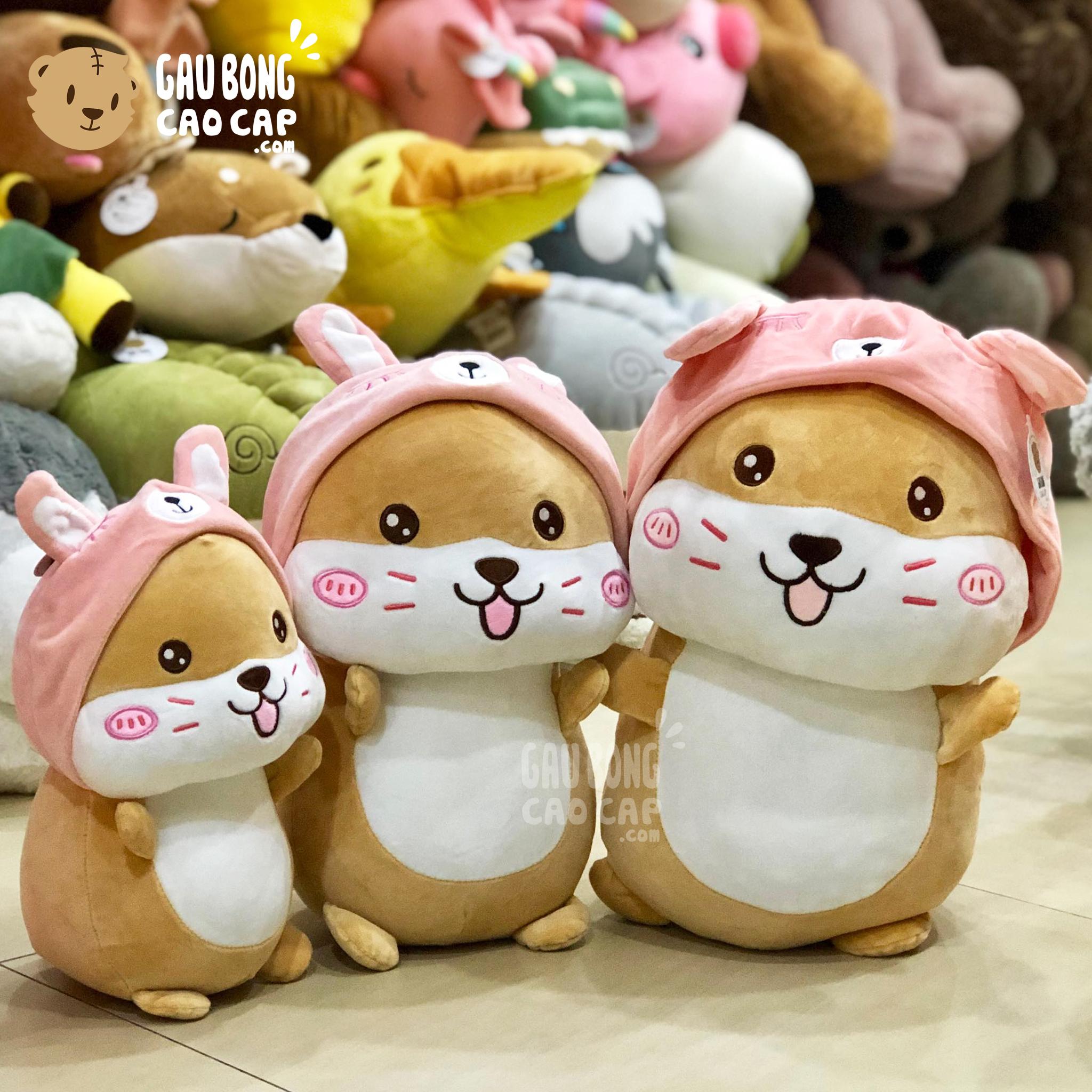 Gấu Bông chuột Hamster Cosplay Thỏ