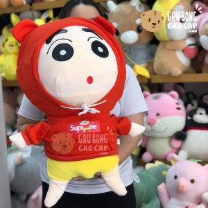 SHIN mặc áo Hoodie Supreme