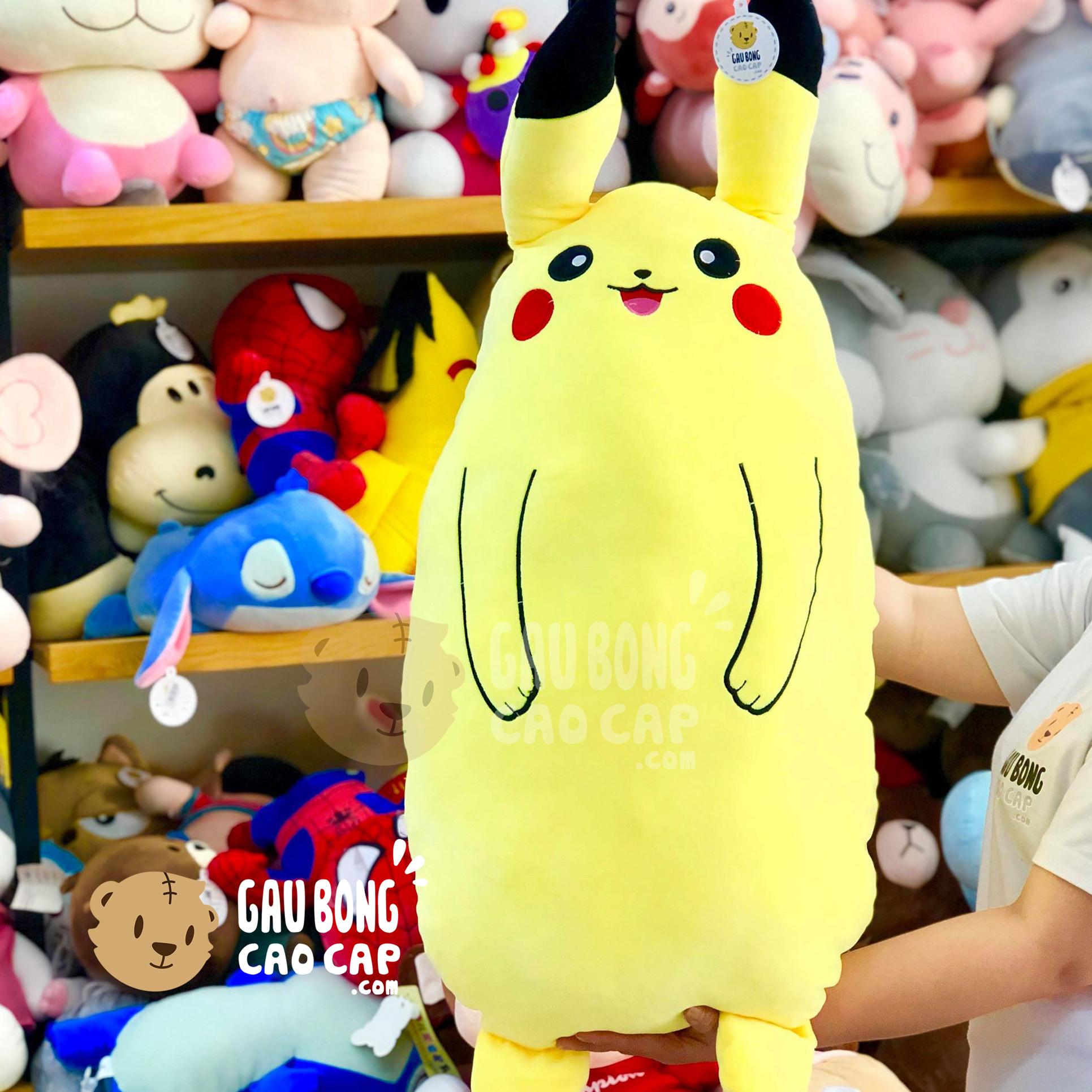 Gối ôm dài Pikachu đứng