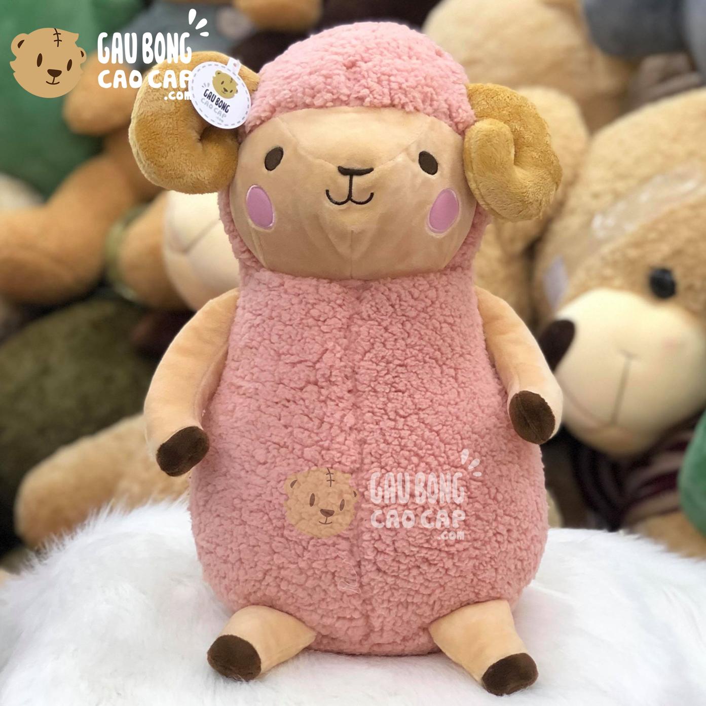 Cừu Bông má hồng - Màu Hồng