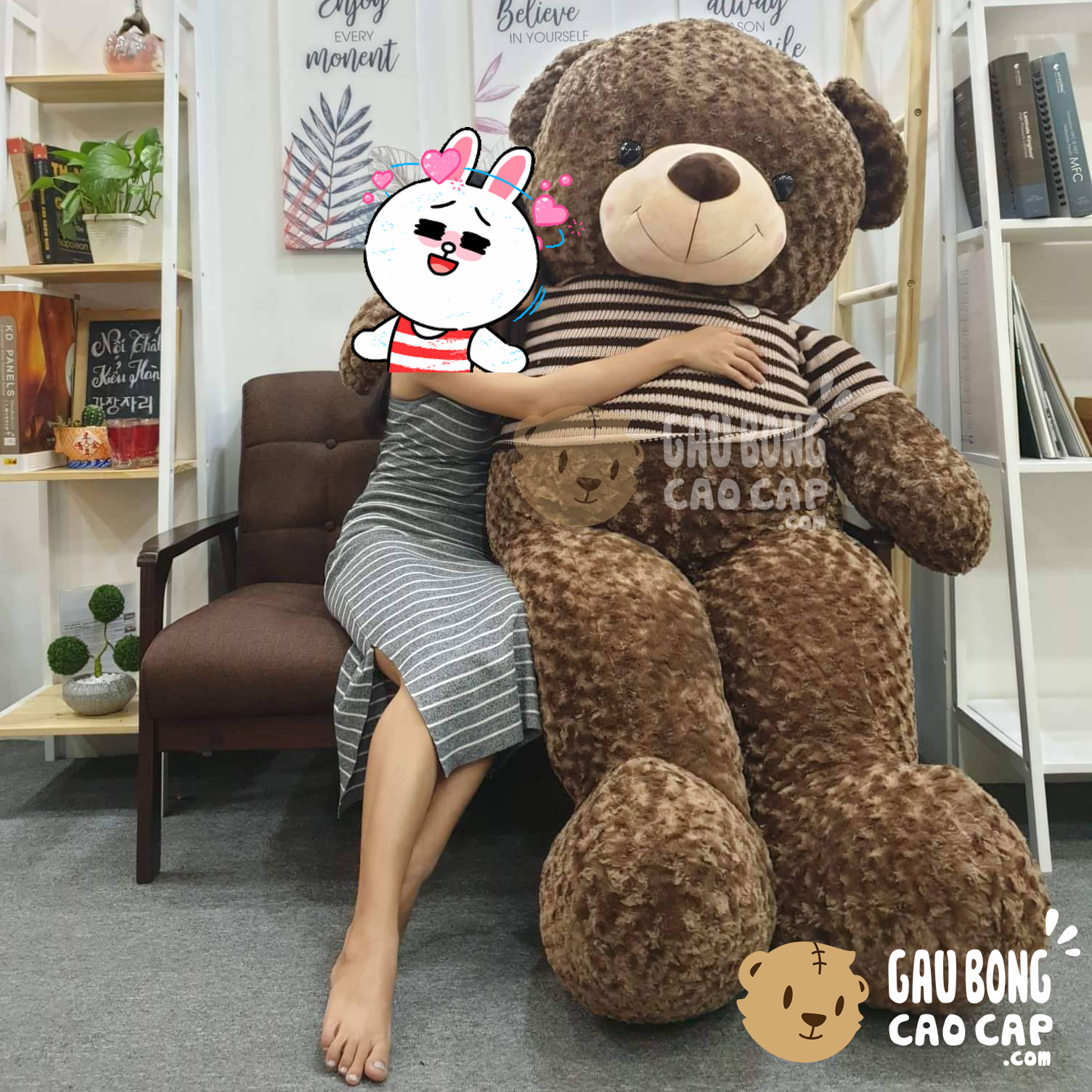 Gấu bông Teddy áo len Choco