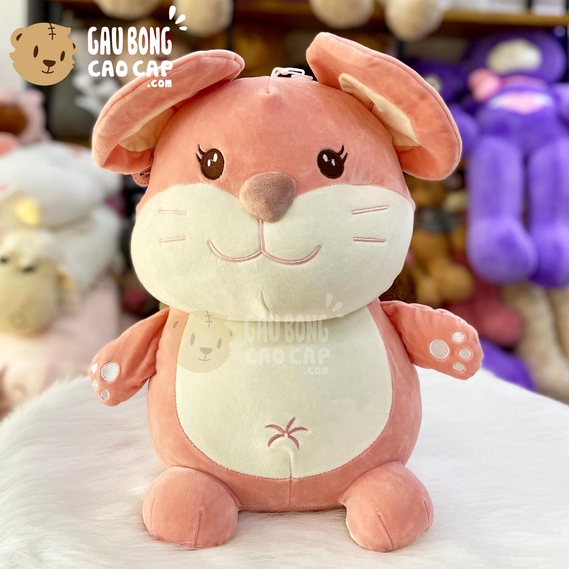 Chuột bông Baby ngồi lông mịn