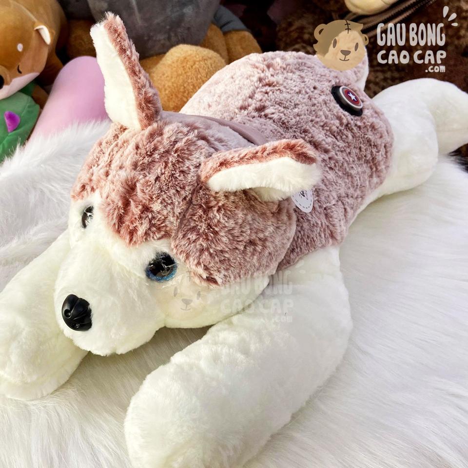 Chó Bông Husky lông tơ mịn mông Star