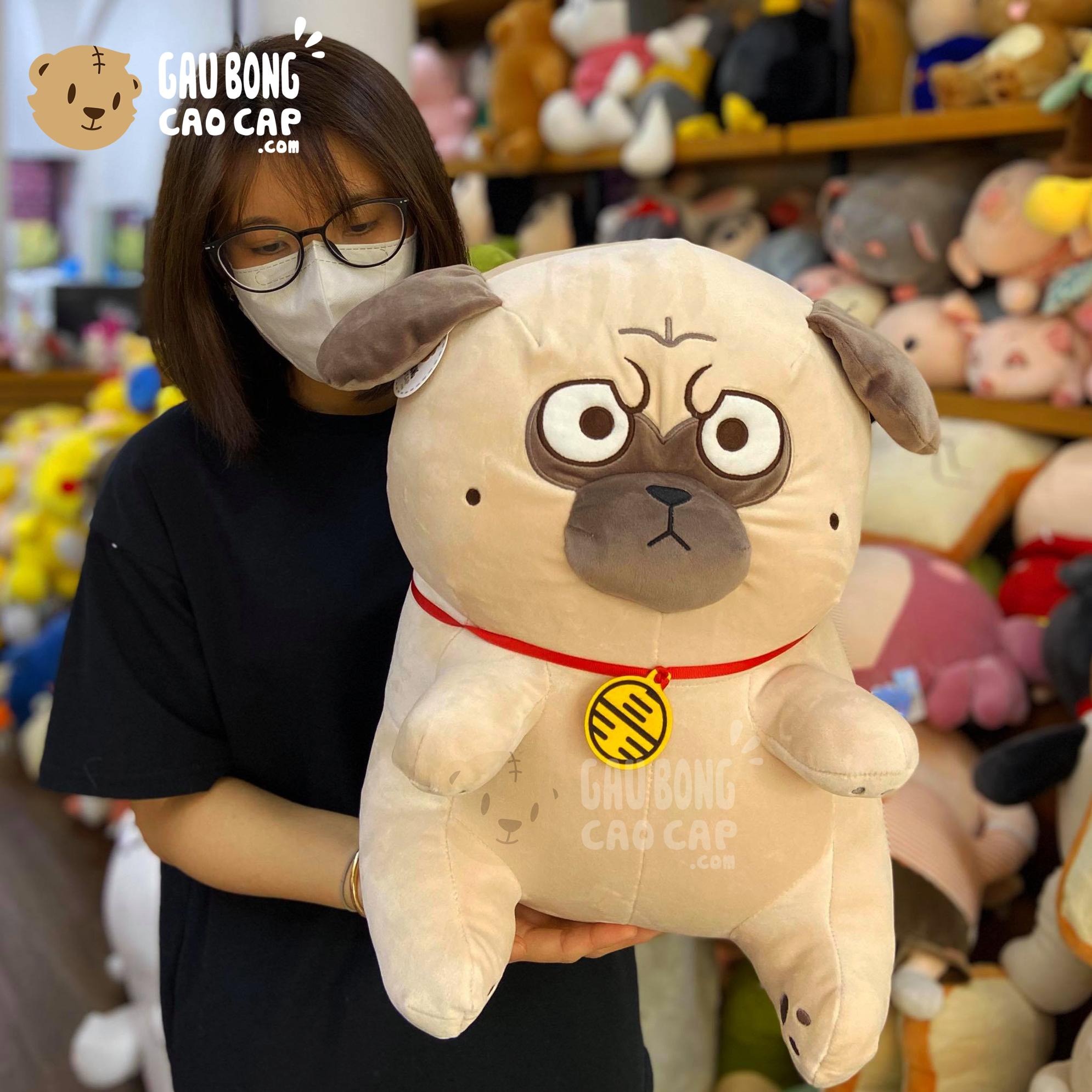 Gối mền 2in1 Chó Bông Nô Tài - Chó Mặt Xệ